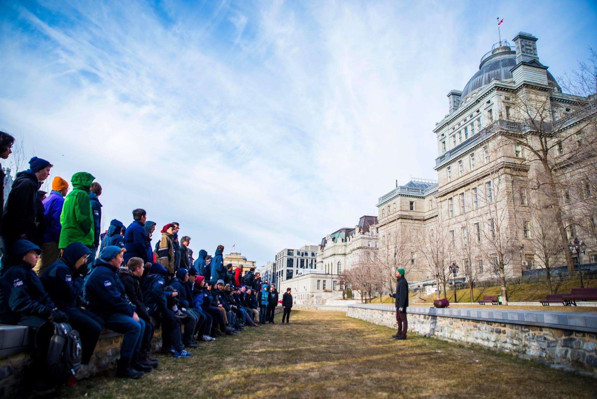 Student tour in Ottawa/Montreal 2016