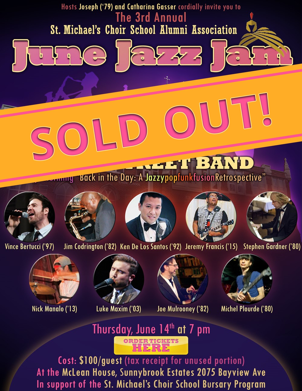 June Jazz Jam Sold Out V3