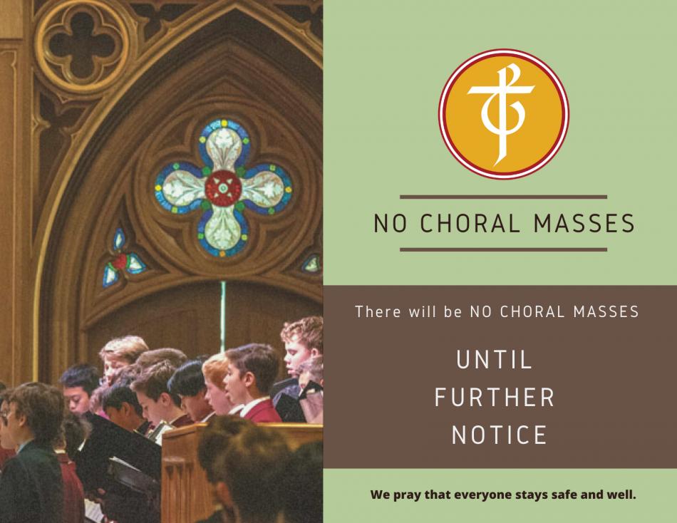 No Choral Masses