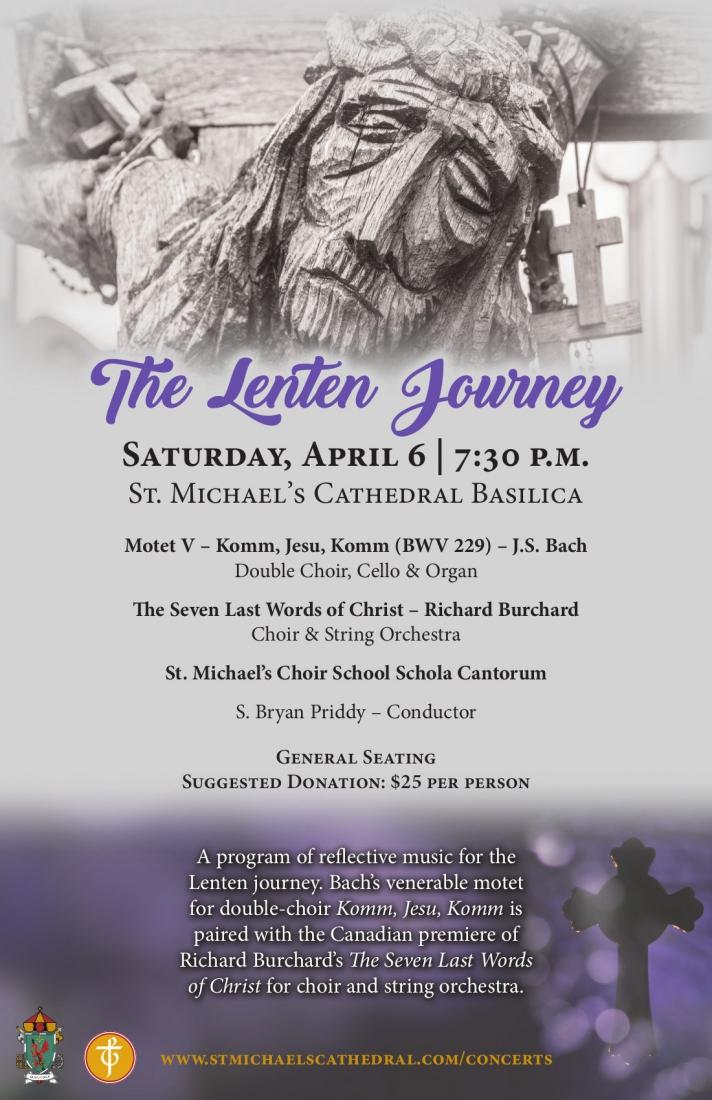 The Lenten Journey Poster V2